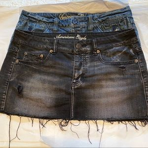 Skirts American Eagle outfitters set of two